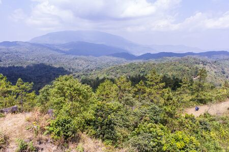 doi: mountain  in doi inthanon, Chiangmai Thailand