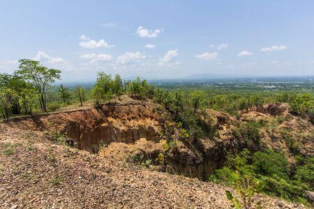 wang: Doi Tok grand canyon in Mae Wang national park, Chiangmai Thailand