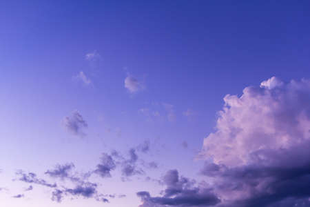 hogshead: Beauty blue sky with clouds, background Stock Photo