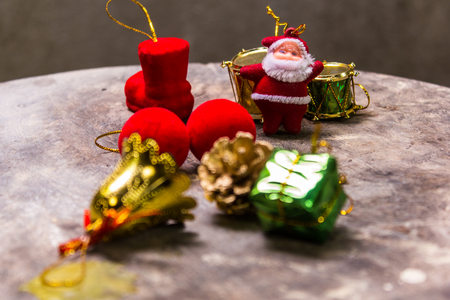 antique sleigh: Still life with Merry christmas