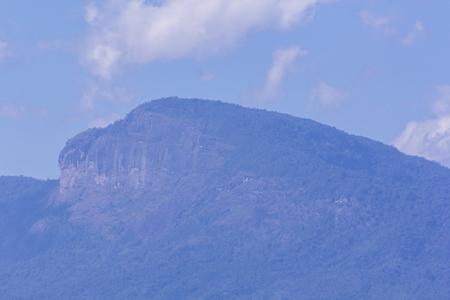 mountain with cloud, Doi Hua Sie thai in chomthong chiangmai Thailand