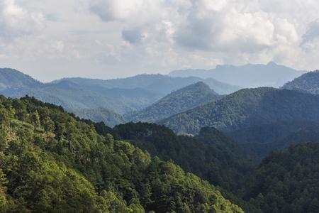 to woo: View doi luang chiangdoa form Loa Woo, Whianghaeng Chiangmai Thailand Stock Photo