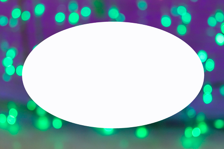 commercial painting: picture frame form Bokeh nice lights