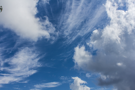 nimbi: clouds with blue sky texture and background