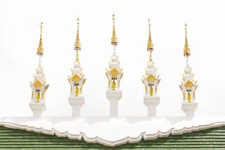 apex: Thai gable apex Isolated