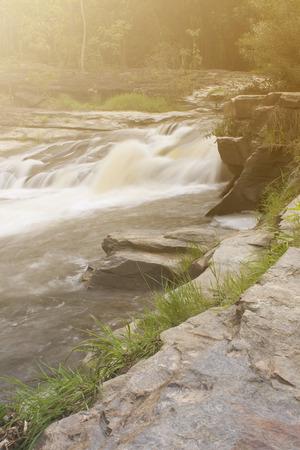 Cataract of Wang kauy waterfall, doi inthanon national park, Chiangmai Thailand