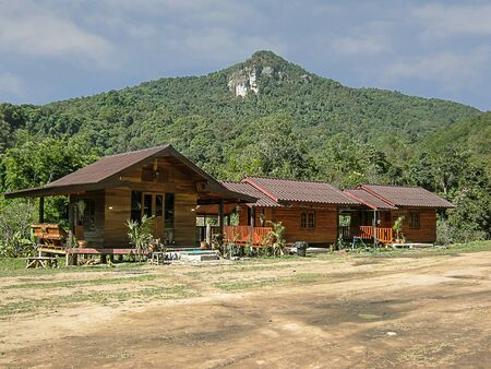 Resort With cliff Doi Inthanon National Park, chiang mai Thailand