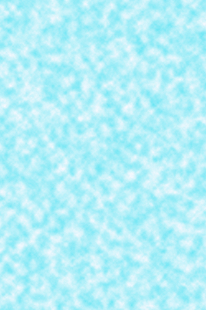 textspace: fluffy white clouds in a blue sky