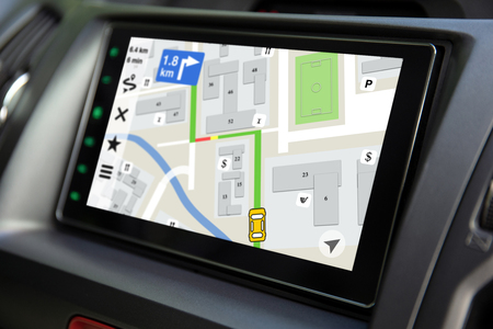 touch multimedia system with application navigation on the screen in car