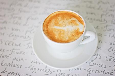 cup coffee cappuccino, latte photo