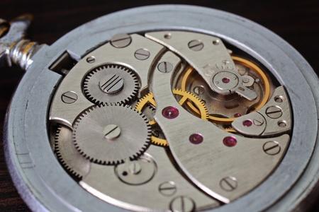 Watch mechanism, mechanical pocket  photo