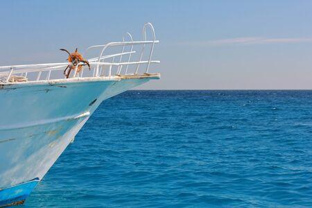 Nose yacht photo