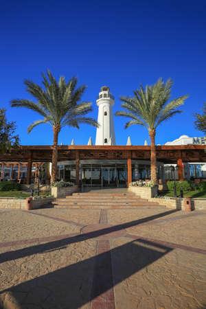 el sheikh: Lighthouse in Sharm el Sheikh resort Editorial
