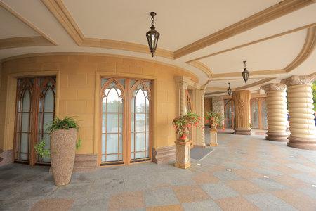 residence: Exterior residence in Mezhyhirya Editorial