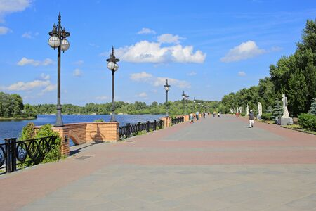 seafront: Seafront in Kiev Stock Photo