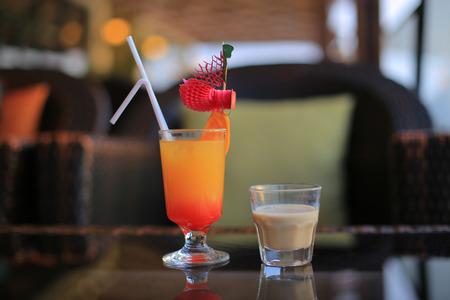 liqueur: Baileys liqueur and cocktail