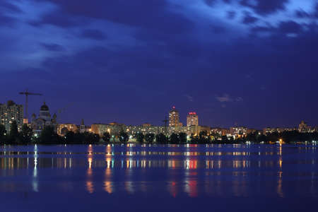 night city kiev Reklamní fotografie
