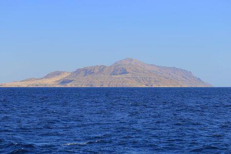 monte sinai: Mar Rojo y la isla de Tiran