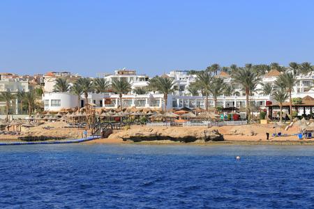 el sheikh: Coast Sharm El Sheikh Stock Photo