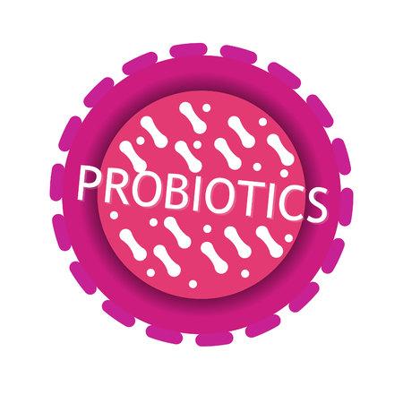 probiotics bacteria icon