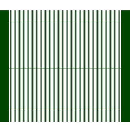 Simple fence vector icon eps10 Metal fence Wooden fence Vectores