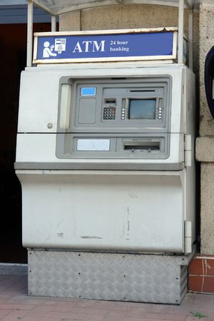 Old external automated teller machine Stock Photo - 1158208
