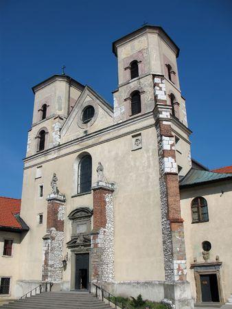 benedictine: Abby benedictino en Tyniec cerca de Cracovia, Polonia