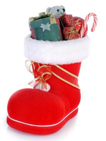Red Santa photo