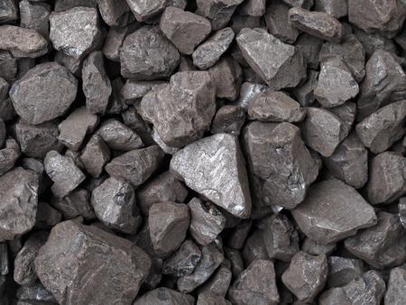 coal mining: Closeup of black coal lumps