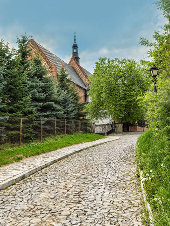 Historical St James Church in Sandomierz, Poland, part of the famous Pilgrim St James Routes  photo