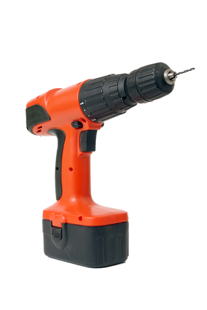 Wireless drilling machine with drill photo