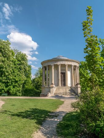 colonnaded: The Temple of the Sibyl at Pu?awy, also known as the Temple of Memory, Pulawy, Poland