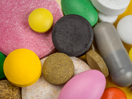 sorts: Closeup of all sorts of drugs