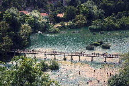 River in national park (Croatia)