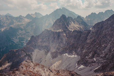 пейзаж: Горный пейзаж в Татрах Фото со стока
