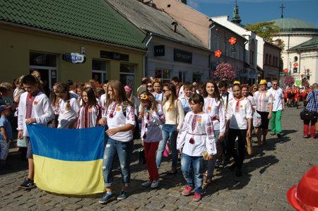 marchers: Opening Parade - representation of ukraine