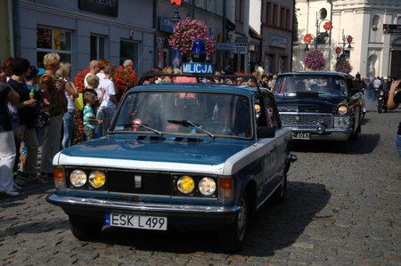 parade: Opening Parade - Old car