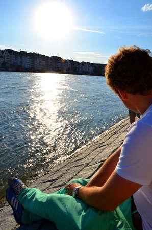 rhein: By the river