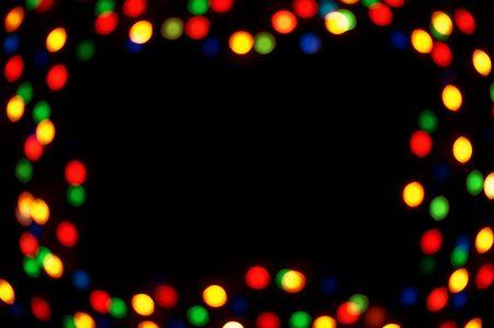 multy: multy colored celebration spot frame
