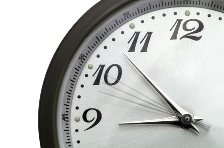 clock with going second hand