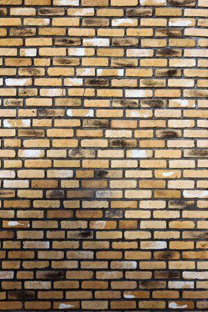 brown brick wall background photo