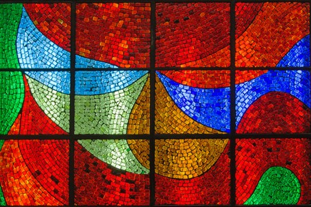 colored window: stained glass background