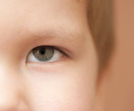 smiling child portrait