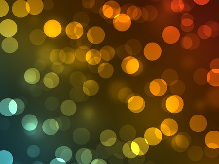 bright colored light spot background