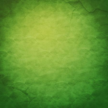 green cloth background with vignetting to the corners Stock Photo