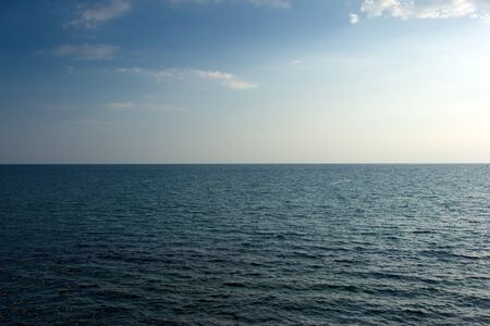 infinity sea and sky landscape  photo