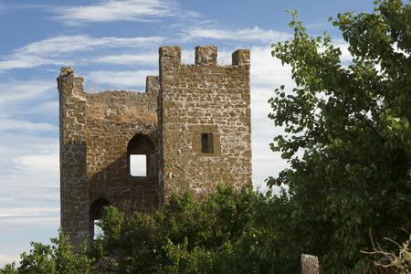 genoese: medieval Genoese stronghold