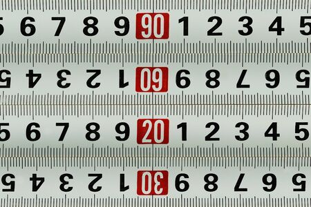 metro de medir: Medición de metro - patrón de fondo