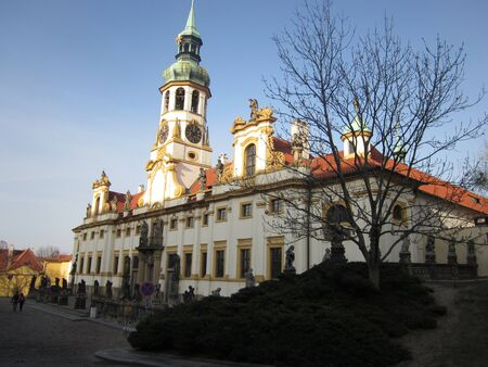 Prague monastere