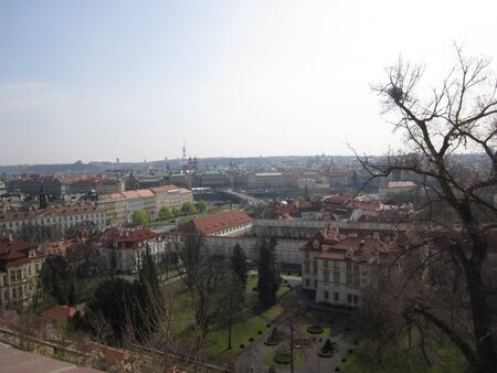 Prague view from castle Banco de Imagens - 19843191